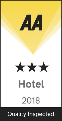 Quality inspected 3 Star AA Hotel 2018